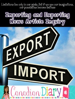Grade 6 Social Studies - Canada's Interaction - Importing and Exporting
