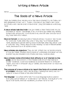 Importing and Exporting News Article Inquiry