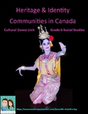 Grade 6 Social Studies - Communities in Canada Dance Unit (Ontario)