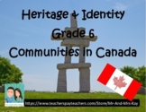 Grade 6 Social Studies - Communities in Canada (Ontario)