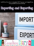 Grade 6 Social Studies (Ontario) - 7 Major Categories of Exporting and Importing