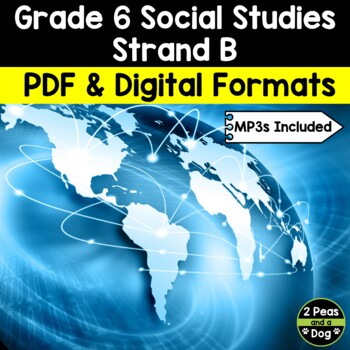 Grade 6 Social Studies Ontario Canada And The Global Community