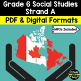 Grade 6 Social Studies Ontario Communities in Canada, Past and Present