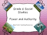 Grade 6 Social Studies - Power and Authority