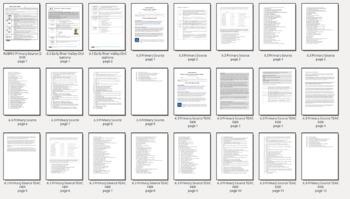 Grade 6 Social Studies Primary Source Essay Prompt Frameworks 6.3