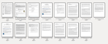 Grade 6 Social Studies Primary Source Essay Prompt Frameworks 6.7