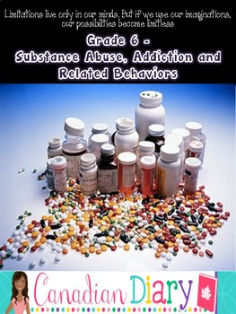 Grade 6 Substance Use, Addictions, and Related Behaviours  (Ontario)