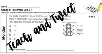 Grade 6 Test Prep Log #9
