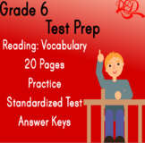Reading Vocabulary | Grade 6 Test Prep | Questions & Asses