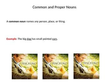 Grade 6 Unit 1 Grammar and Conventions: Common and Proper Nouns