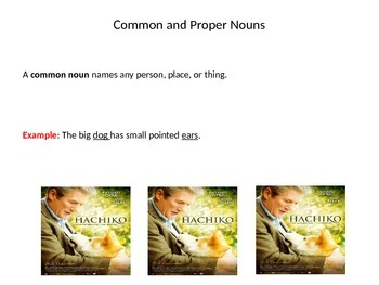 Grade 6 Unit 1 Grammar and Conventions: Common and Proper Nouns
