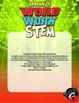 Grade 6 Word Work: Weekly Journal and SCIENCE words