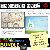 Grade 6 and 7 Ontario Social Studies History and Geography BUNDLE