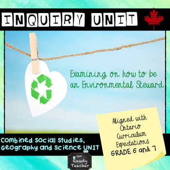 Grade 6 and 7 Ontario Social Studies and Geography Combined Unit