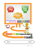 Grade 7,8,9 Year 7,8,9 E-safety Cyber Bullying  Comics Cartoons WORKBOOK Pt1