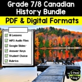 Grade 7/8 Canadian History Bundle 1713-1914