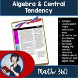Grade 7/8  Math Algebra Lessons Unit 4 (New Ontario Math Curriculum 2020)