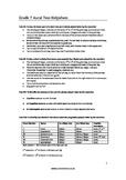 Grade 7 ABRSM Aural test helpsheet