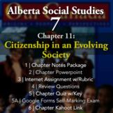 Grade 7 Alberta Social Studies Chapter 11: Citizenship in