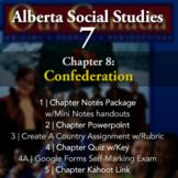 Grade 7 Alberta Social Studies Chapter 8: Confederation