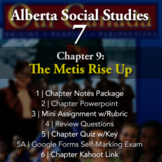 Grade 7 Alberta Social Studies Chapter 9: The Métis Rise Up Unit