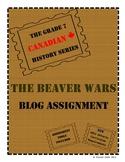 Grade 7 Canadian History: Beaver Wars Blog Assignment