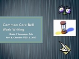 Grade 7 Language Arts Common Core Bell Work