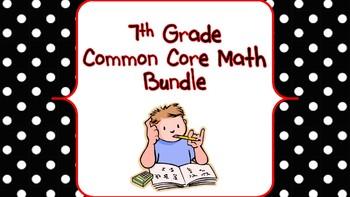 Grade 7 Common Core Math Bundle