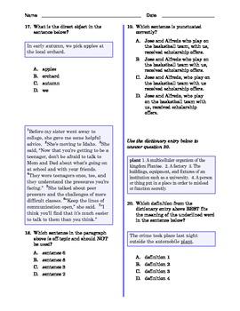 Grade 7 Common Core Language and Writing Practice Value Bundle
