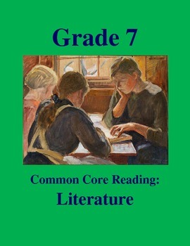 Grade 7 Common Core Reading: Literature -- War... by The Worksheet ...