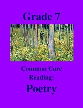 """Grade 7 Common Core Reading: Poetry - """"Stuck in a Brainsto"""