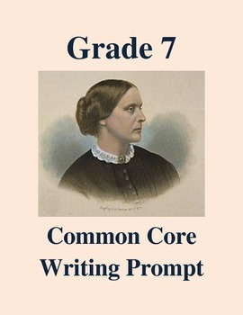 Grade 7 Common Core Writing Prompt -- Response to Susan B. Anthony Speech