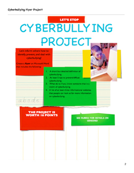 Grade 7 Cyberbullying Unit Lesson 4