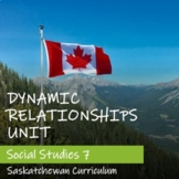 DYNAMIC RELATIONSHIPS Unit - Saskatchewan Social Studies 7