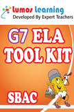 Grade 7 English Language Arts (ELA) Tool Kit for Educators