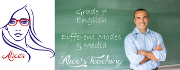 Grade 7 English Unit - Different modes and media