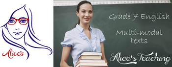 Grade 7 English Unit - English in written and multi-modal texts