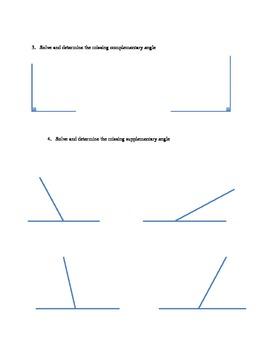 Grade 7 Geometry Test