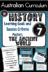 Grade 7  History – All Aus. curric. Learning Goals & Success Criteria Posters.