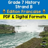 Grade 7 History Conflict and Challenges in Canada 1800-1850 Strand B FRENCH