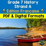 Grade 7 History New France and British North America 1713–1800 Strand A FRENCH