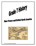 Grade 7 History - New France and British North American 17