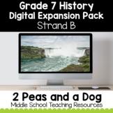 Grade 7 History Strand B Digital Expansion Pack