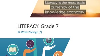 Grade 7: 12 Week Literacy Package  (2)