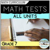 Grade 7 Math Assessment: Tests, Study Guides, Culminating Activities - All Units