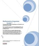 Grade 7 Math, CA Content Standards, Common Core Standards, Midyear Evaluation