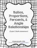 Grade 7 Math Common Core Assessment