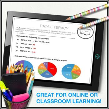 Data Management Math Unit: Collect & Organize Data (Graphing) - Grade 7