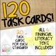 Grade 7 Math: Financial Literacy STAAR Test-Prep Task Cards BUNDLE!
