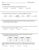 Grade 7 Math PARCC PBA Homework Reviews